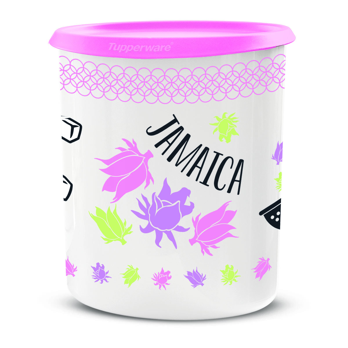 """""""Jamaica"""" One Touch® Canister"""